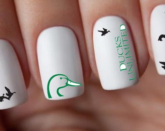 Ducks Unlimited Nail Decals