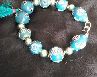 Charm Bead Bracelet