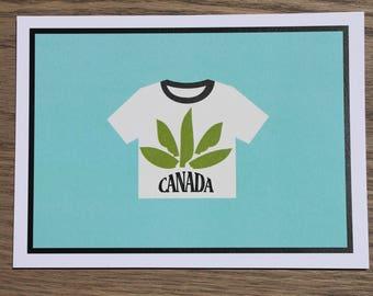 MARY JANE CANADA card