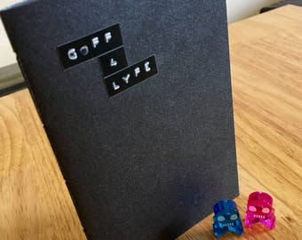 Goff 4 Lyfe A6 notebook with black pages