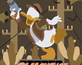 Quackshot - Sega MegaDrive/Genesis print (#002)