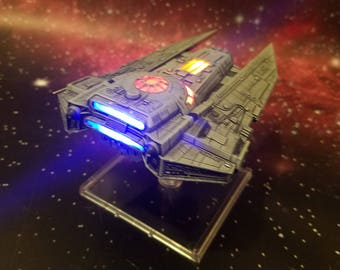 Star Wars X Wing Miniatures Decimator LED Modification