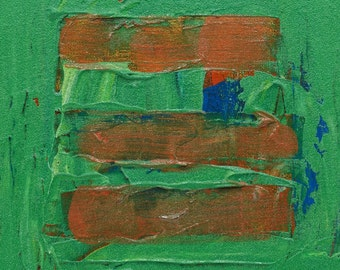Painting, Abstracted Threes #02