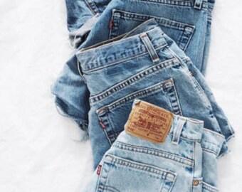 levis Vintage Jean Shorts