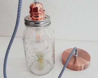Jar Mason jar lamp
