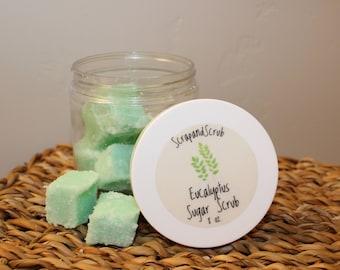 Eucalyptus Sugar Scrub Cubes