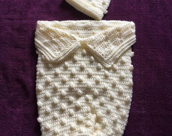 Hand Crocheted Bobbled Cuddle Bug Set