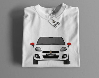 T-shirt Abarth Grande Punto | Gent, Lady and Kids | all the sizes | worldwide shipments | Car Auto Voiture