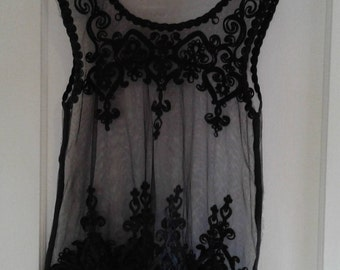 Sheer Lace Summer Top