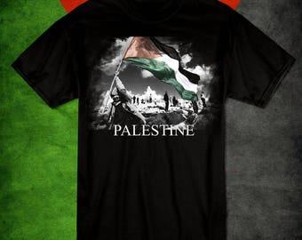Free Palestine Flag T-shirt