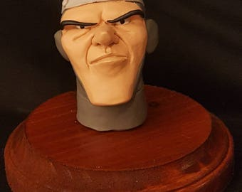 Painted Dirk Head (Dragon's Lair)