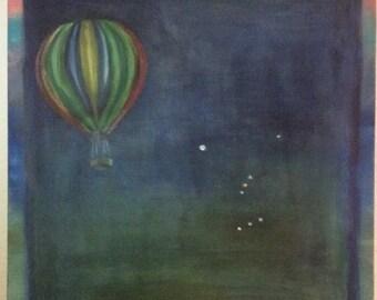 Ballon in the Galaxy