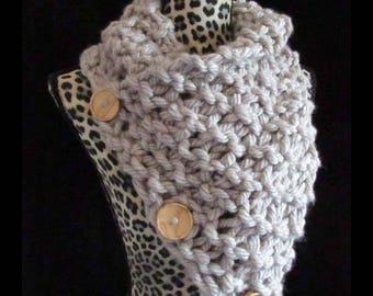 Handmade Oversized Knit Cowl