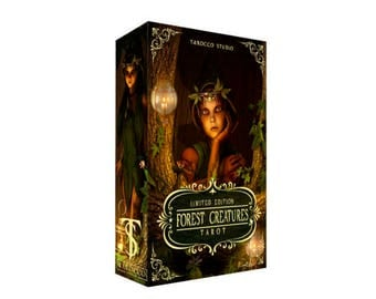 Forest creatures Tarot. Limited edition. Free shipping!