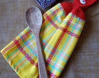Crochet Top Dishtowel
