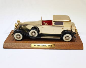 Vintage 24kt Gold Plated 1934 Duesenberg by Waco Japan