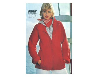 Comfy Jacket Crochet Pattern