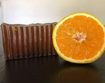Honey with Orange and Clove Soap / Handmade Soap / Homemade Soap / Natural Soap / Bar Soap / Essential Oil Soap / Honey Soap / Vegan Soap