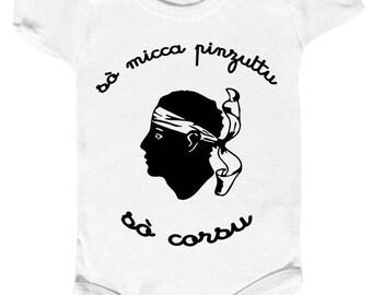 "funny baby onesie""c is clear I am not a pinzuttu... or a pinzutta"