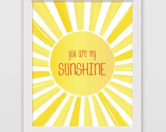 You Are My Sunshine, Yellow