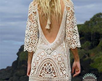 Stunning Crochet Beach Cover!