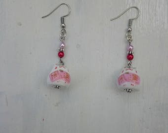 """Earrings """"cat"""" Chinese lucky"""