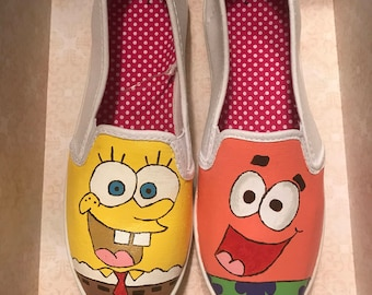 SpongeBob and Patrick Star shoes