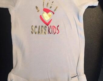 ONESIE/ SCARS KIDS
