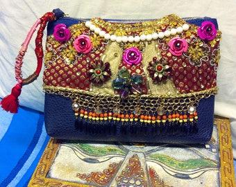 Bohemian handmade  bag