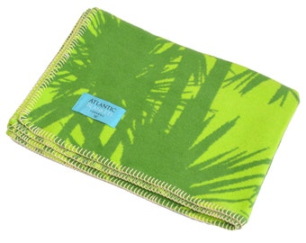 Sub Tropical Cornish Palms Baby Blanket