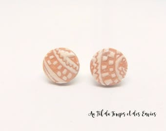Melodie Collection, Earrings stud round