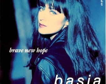 Basia Brave New Hope Tape Cassette 1990 Sony Music Until You Come Back To Me
