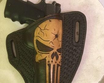 Custom Punisher 1911 Holster, full size