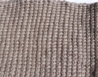 adult snood neck Tunisian crochet