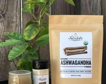 USDA Certified Organic Ashwagandha Powder