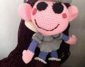 Sylvie fairy, crochet doll