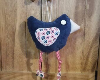 Decorative chicken made to hang