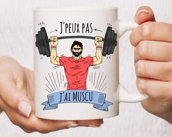 Mug I can't I work out