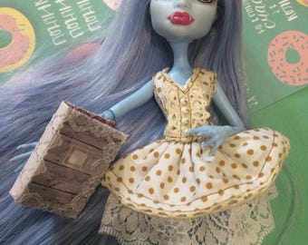 Monster High clothes - Monster High outfits. Dress for dolls and book handmade