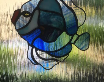 Stain glass fish