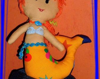 Little mermaid - Rag doll