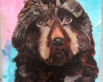 Hand painted pet portraits! Send me your pets images