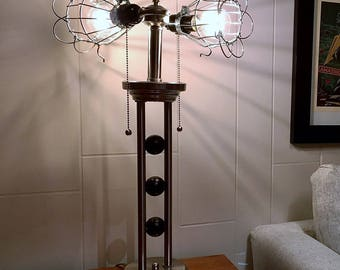 Industrial, Steam Punk, Sci Fi Table Lamp