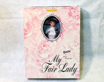 Barbie as Eliza Doolittle in My Fair Lady | Vintage Ascot White Lace Gown | Hollywood Legend Collection | 1995 Collector Edition