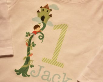 Jack and the Beanstalk Birthday Storybook Shirt