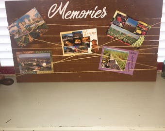 These Will Be The Best Memories--Photoboard