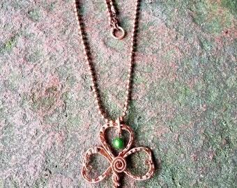 Irish clover key