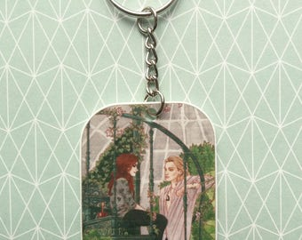 The Mortal Instruments - Keychain / Porte-clés - Clary and Jace