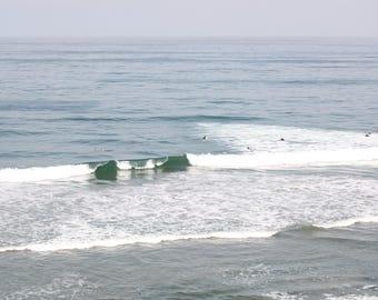Waves in Carlsbad, CA