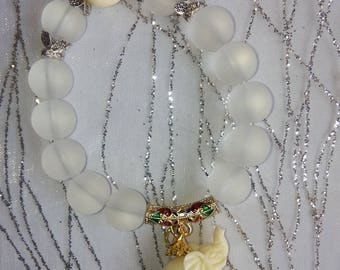 "Bracelet natural stone ""Quartz Crystal"" (introductory offer)"